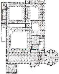 Batalha, Mosteiro de Santa Maria da Vitória - Planta do complexo - Affonso Domingues