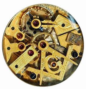 Clock compass