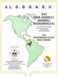 Confederação da Maçonaria Interamericana - Bogotá