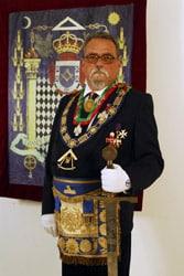 Past Grão-Mestre Nandim de Carvalho