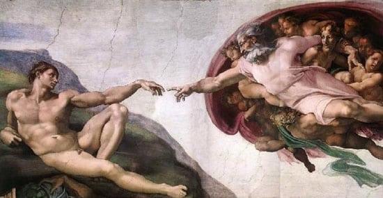 god_creates_man