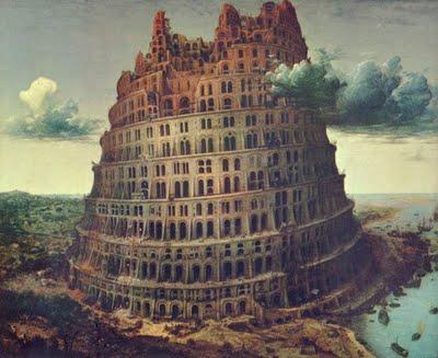 A Torre de Babel - Pieter Bruegel